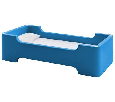 Lit enfant Bunky /Module 1 place 81 x 171 cm - Magis Collection Me Too bleu foncé en matière plastique
