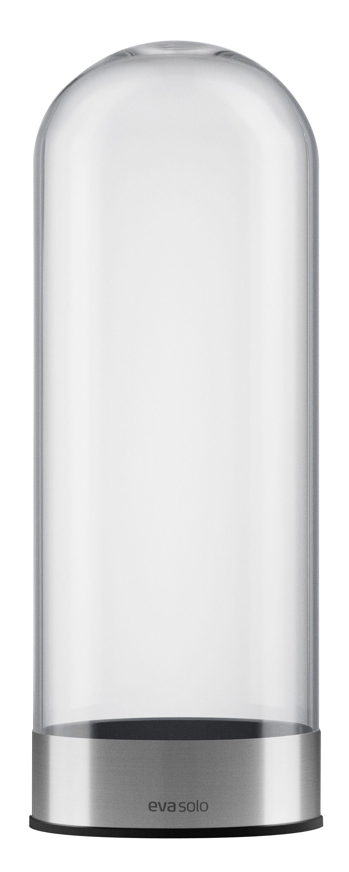 distributeur de capsules de caf transparent chrom eva solo. Black Bedroom Furniture Sets. Home Design Ideas