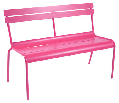 Scopri Panchina Luxembourg -2/3 posti, fucsia di Fermob, Made In ...