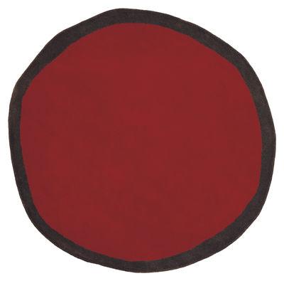 tapis aros rouge nanimarquina made in design. Black Bedroom Furniture Sets. Home Design Ideas