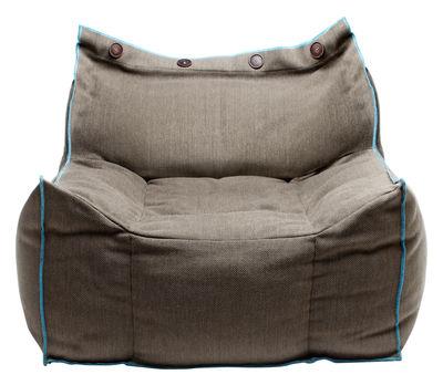 Poltrona Frolla - tessuto - Per l'interno di Skitsch - Blu,Beige - Tessuto