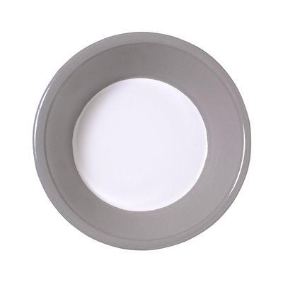 Arts de la table - Saladiers, coupes et bols - Bol Basic / Ø 17,5 cm - Variopinte - Gris perle - Métal émaillé