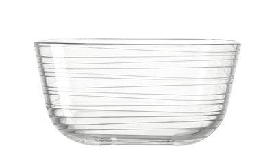 Bol Struttura Gusto / Ø 17 x H 8,5 cm - Leonardo transparent en verre