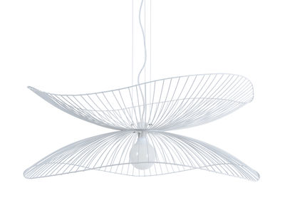 Libellule Large Pendelleuchte / Ø 100 cm x H 40 cm - Forestier - Weiß