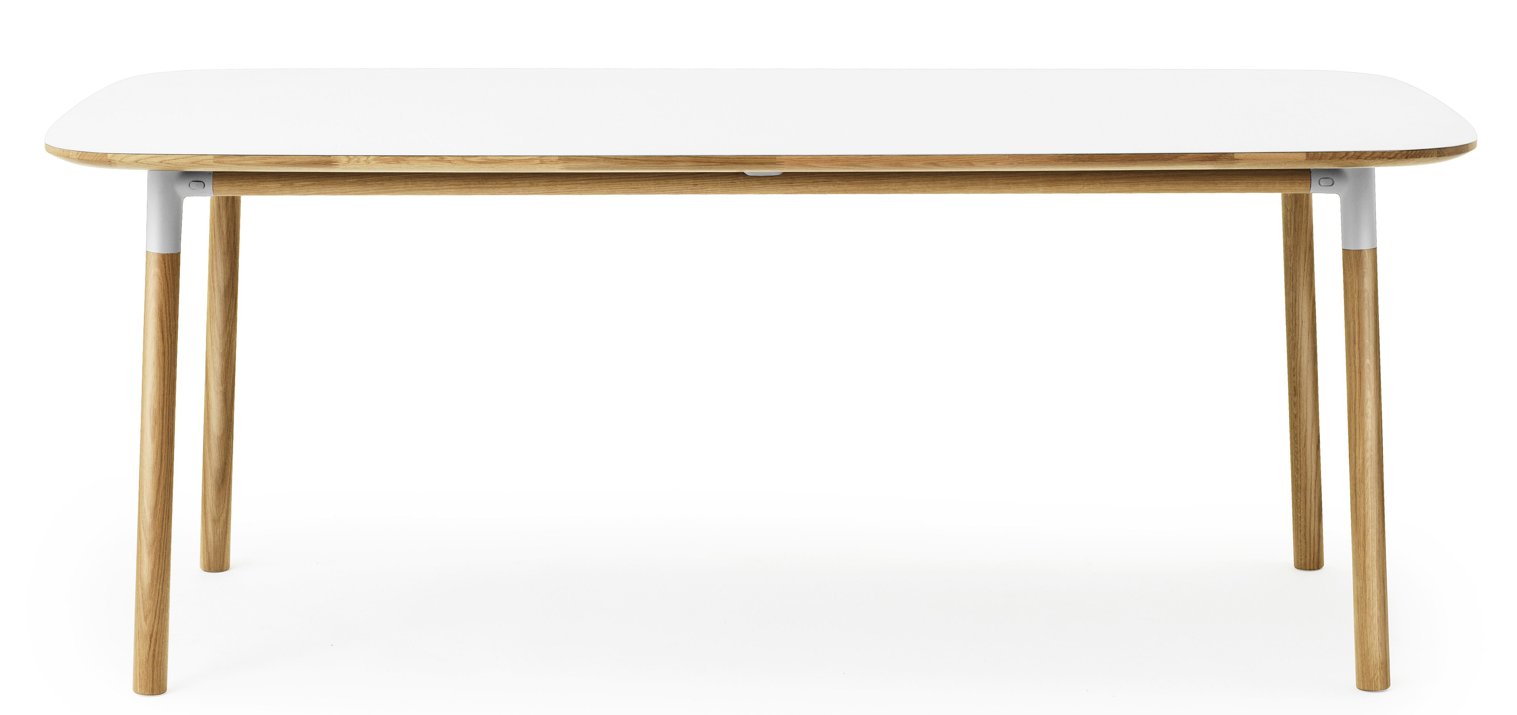 Form table 95 x 200 cm white oak by normann copenhagen for Html form table