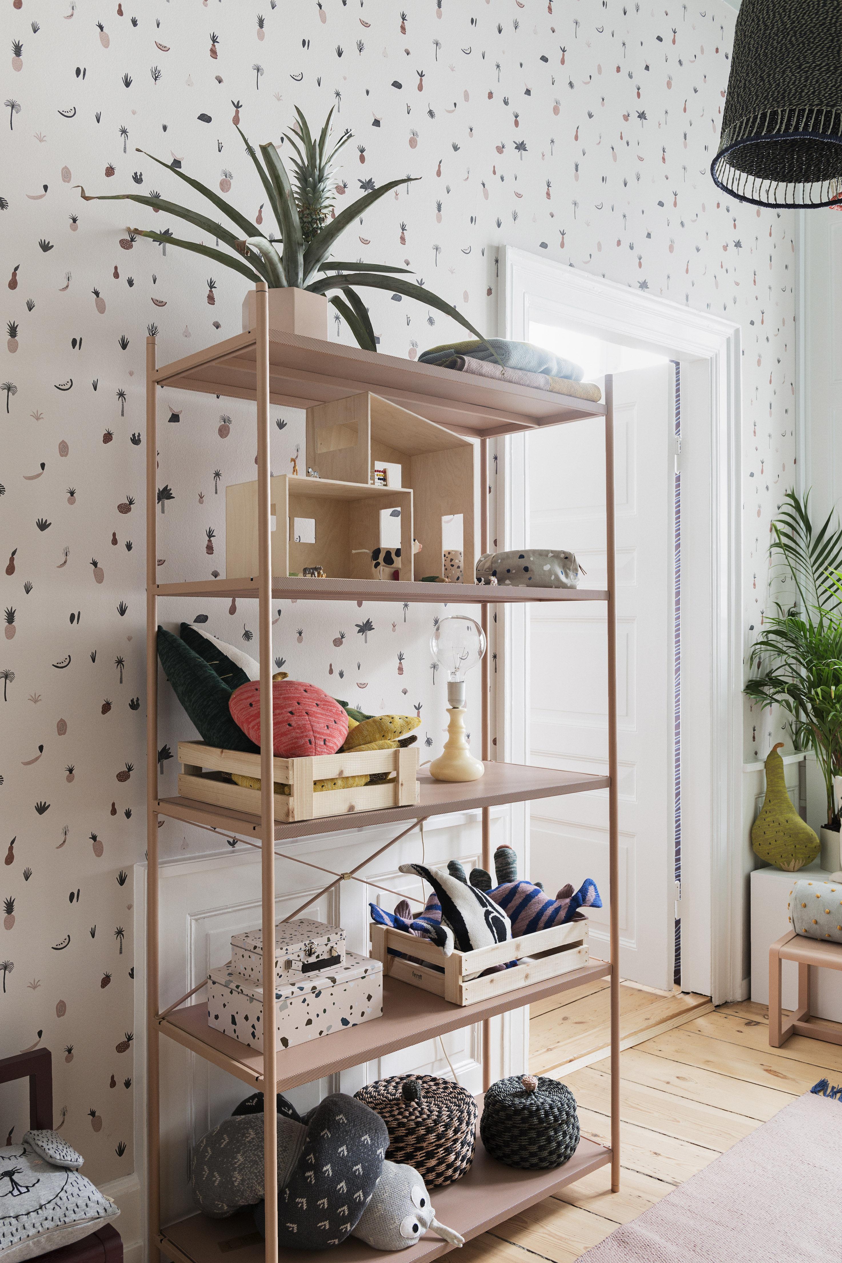 funkis small puppenhaus l 47 cm x h 36 cm ferm living regal. Black Bedroom Furniture Sets. Home Design Ideas