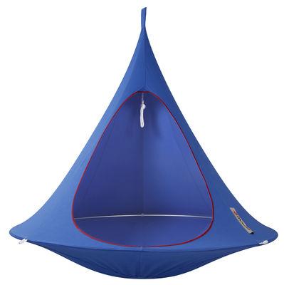 Jardin - Chaises longues et hamacs - Fauteuil suspendu / Tente - Ø 180 cm - 2 personnes - Cacoon - Bleu ciel - Aluminium anodisé, Toile