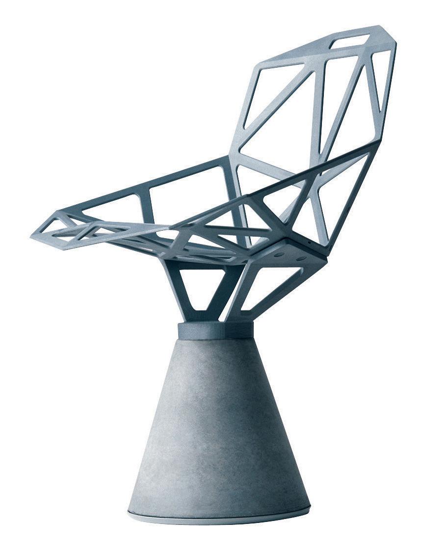 scopri poltrona chair one b versione alluminio lucido alluminio lucido di magis made in. Black Bedroom Furniture Sets. Home Design Ideas