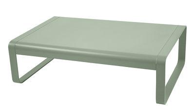 Tavolino basso Bellevie / Alluminio - 103 x 75 cm - Fermob - Cactus - Metallo