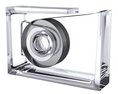 Accessoires - Accessoires bureau - Dévidoir de ruban adhésif Roll-Air / By Eugeni Quitllet - Lexon - Transparent - PMMA