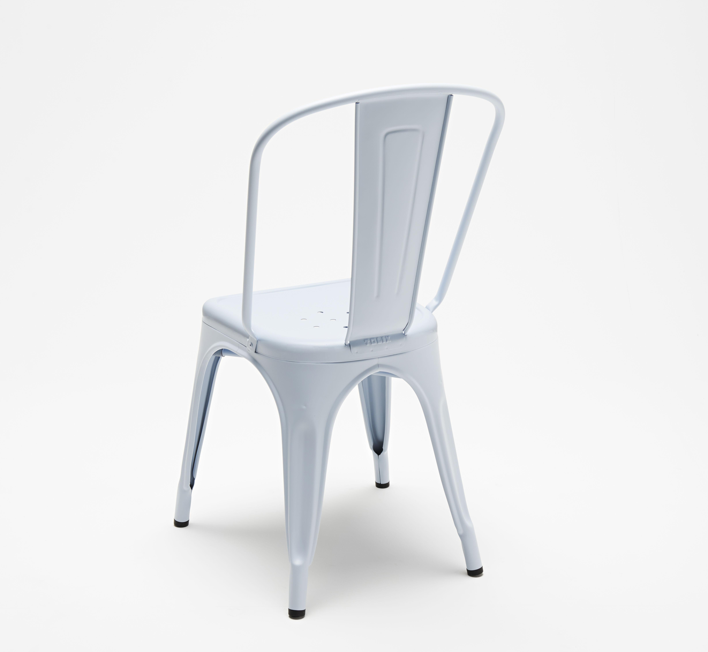 Scopri sedia a colore opaco les couleurs le corbusier blu oltremare chiaro di tolix made - Sedia le corbusier ...