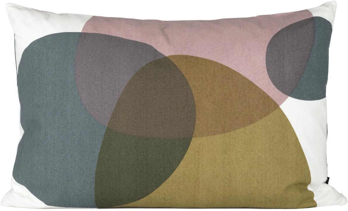 coussin melt small 60x40 cm l 60 cm gris curry rose ferm living. Black Bedroom Furniture Sets. Home Design Ideas