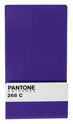 Decoration - Office - Pantone Magazine holder - Wall mounted magazine holder by Seletti - 268C - Royal purple - Metal