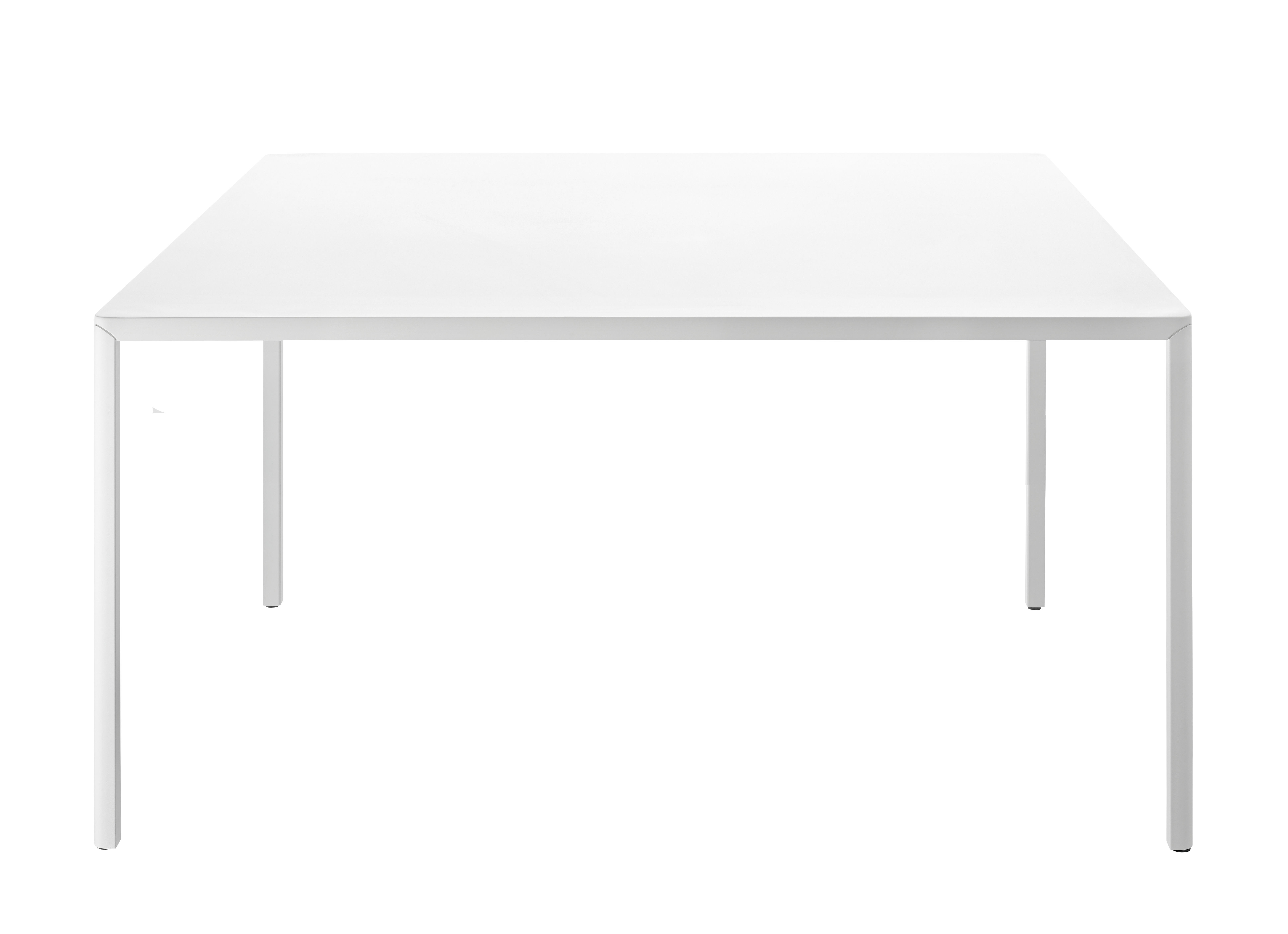 Passe partout outdoor table 180 x 90 cm white by magis for Table bar 85 cm