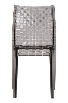 Chaise empilable Ami Ami Polycarbonate Kartell fumé en matière plastique