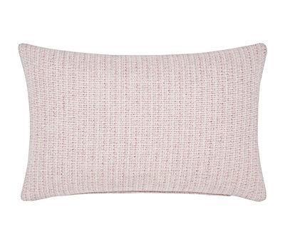 Coussin Fleck / Laine - 60 x 40 cm - Tom Dixon rose chiné en tissu