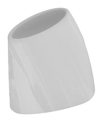 Foto Vaso per fiori Tao M - A 60 cm - Versione laccata di MyYour - Grigio chiaro laccato - Vetro