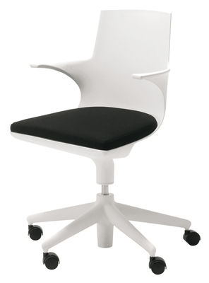 Spoon Chair Sessel mit Rollen - Kartell