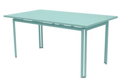 Foto Tavolo con prolunga Costa - / L 160 a 240 cm - da 6 a 10 persone di Fermob - Blu laguna - Metallo