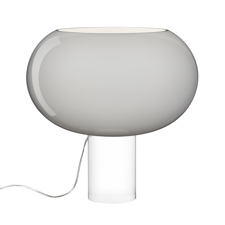 Scopri lampada da tavolo buds 2 vetro artigianale - Lampada da tavolo artigianale ...
