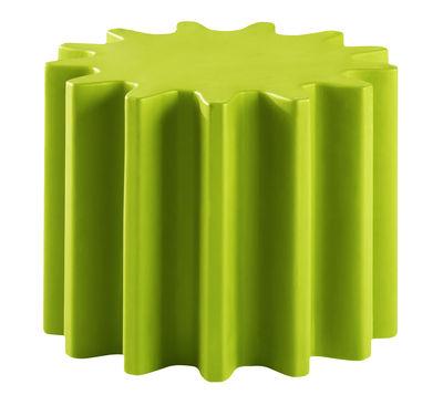 Tavolino Gear - /Sgabello di Slide - Verde - Materiale plastico