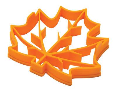 Image of Leaves pancake Pancake-Form / Spiegelei-Form - Silikon - Pa Design - Gelb