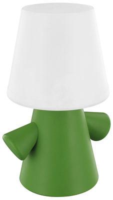 lampe solaire green man vert blanc lexon. Black Bedroom Furniture Sets. Home Design Ideas
