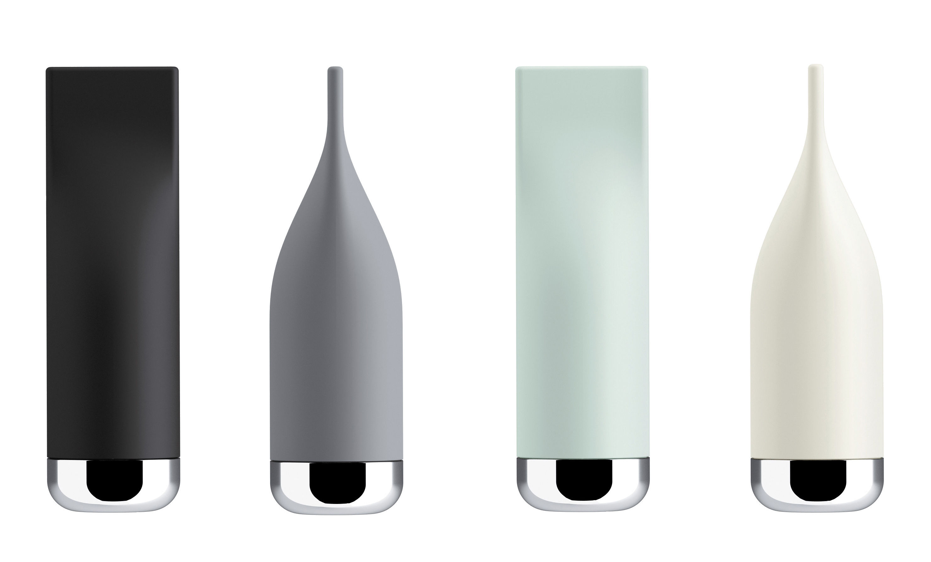Pizzico salt shaker white by alessi made in design uk for Alessi salt and pepper shakers