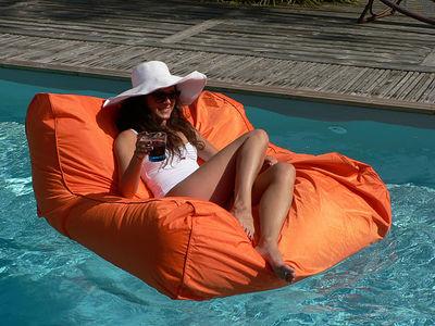 Fauteuil sitinpool flottant l 110 cm rembourrage for Siege flottant pour piscine