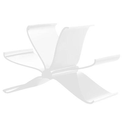 Porte-revues Front Page - Kartell blanc opaque en matière plastique