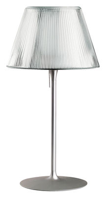 Lighting - Table Lamps - Romeo Moon T1 Table lamp by Flos - Grey - Glass, Metal