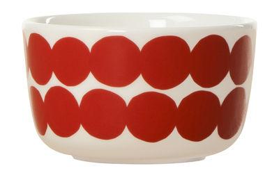 Bol Räsymatto / Ø 9 cm - Marimekko rouge en céramique