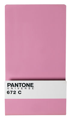 Porte-revues Pantone / Tableau magnétique + 6 aimants - Seletti lavande pastel 672c en métal
