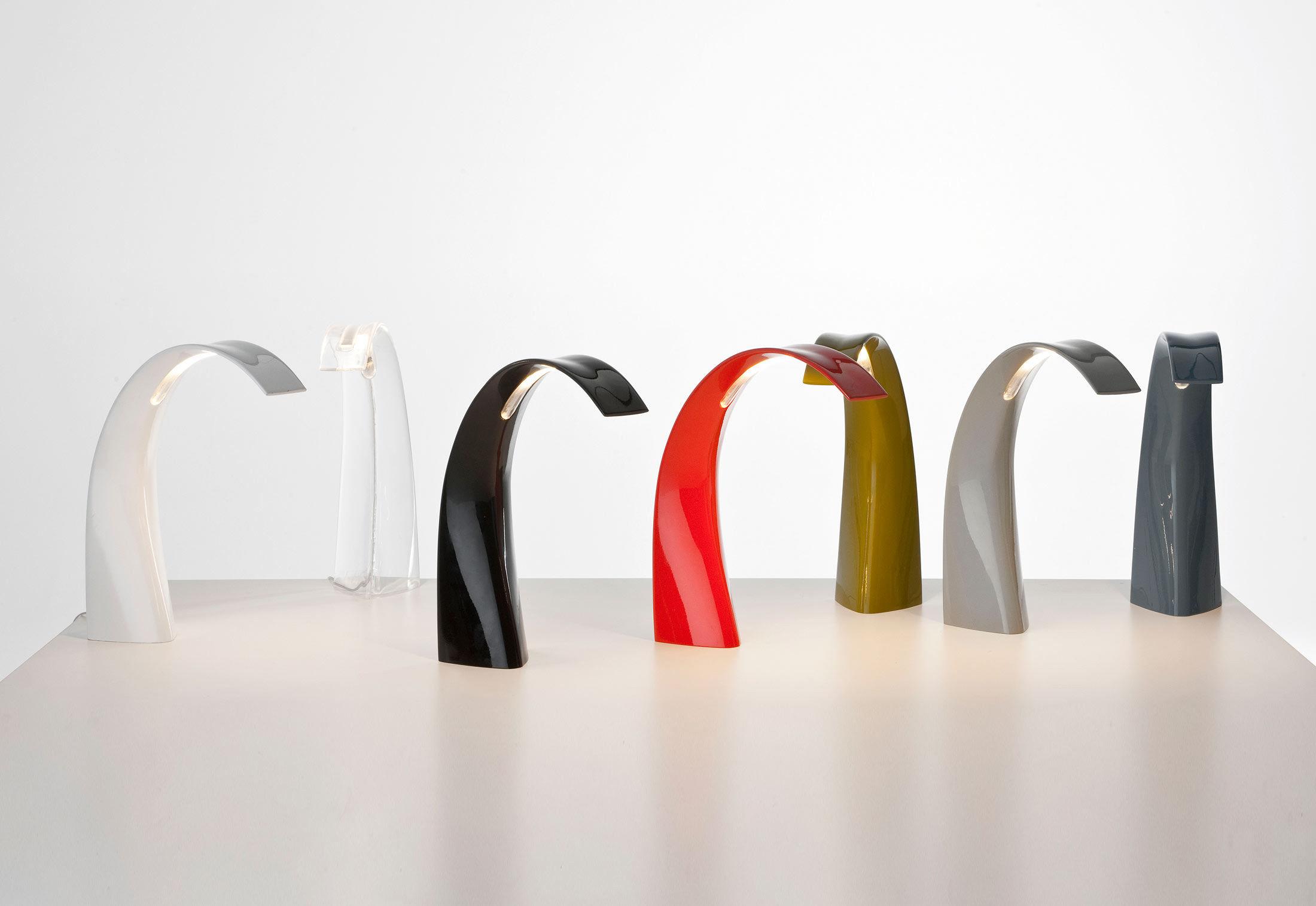 lampe de table taj mini led cristal kartell. Black Bedroom Furniture Sets. Home Design Ideas