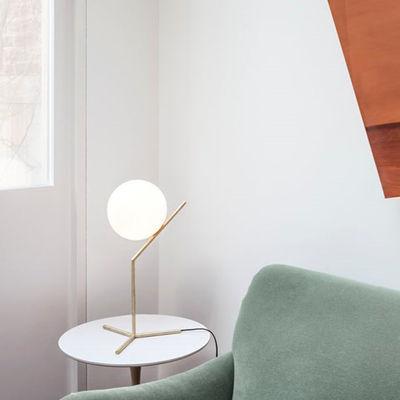 Lampe De Table Ic T1 High H 53 Cm Laiton Flos
