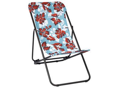 Scopri chaise longue transatube pieghevole aloha blu di - Chaises longues lafuma ...