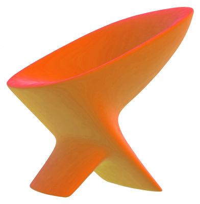 Poltrona Ublo di Qui est Paul ? - Arancione - Materiale plastico