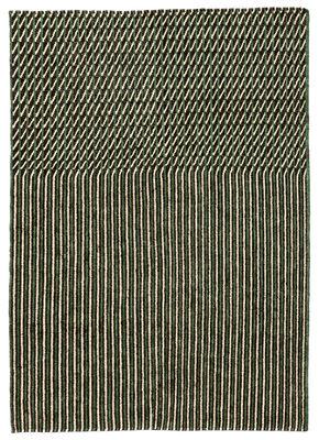 Tapis Blur Laine afghane 170 x 240 cm Nanimarquina vert,beige en rotin fibres