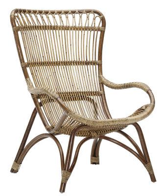 Chaise Monet - Sika Design antique en rotin & fibres