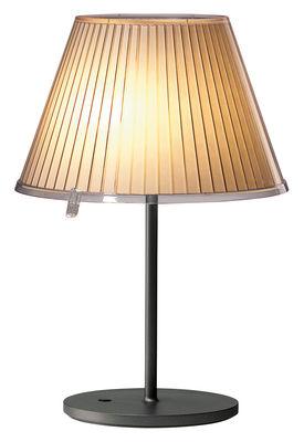Luminaire - Lampes de table - Lampe de table Choose H 55 cm - Artemide - Beige / Halogène - Métal, Papier parchemin, Polycarbonate