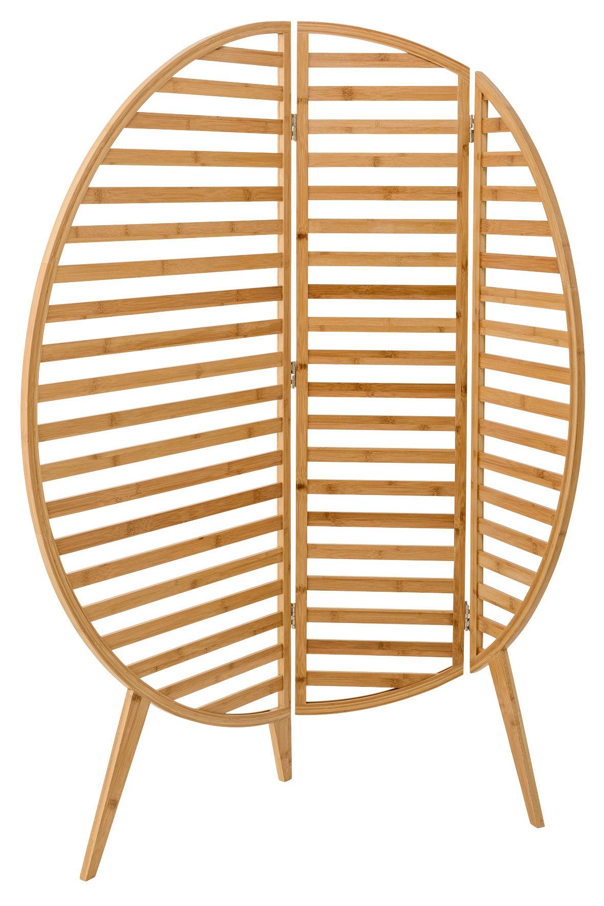 paravent bamboo l 120 x h 130 cm bambou naturel. Black Bedroom Furniture Sets. Home Design Ideas