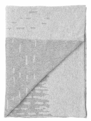 Foto Plaid Rain / Lana - 190 x 130 cm - Menu - Grigio - Tessuto