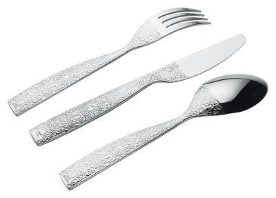 Ménagère Dressed / Coffret 24 pièces - Alessi métal brillant en métal