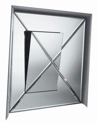 Mobilier - Miroirs - Miroir mural Osmond / 159 x 159 cm - Driade Kosmo - Miroir - Aluminium - Aluminium