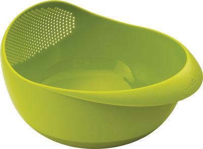 Saladier Prep&Serve / Avec passoire intégrée - Joseph Joseph vert en matière plastique