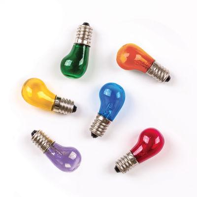 Ampoule LED E14 Luminaire / Set de 6 - Seletti multicolore en verre