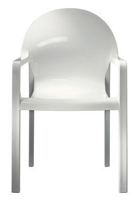 fauteuil empilable tosca plastique blanc magis. Black Bedroom Furniture Sets. Home Design Ideas