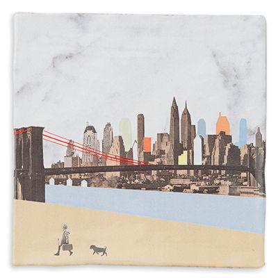 Foto Piastrella di ceramica New York / 13 x 13 cm - StoryTiles - Multicolore - Ceramica Piastrelle in ceramica
