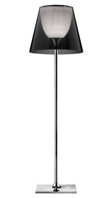 Foto Lampada a stelo K Tribe F2 - H 162 cm di Flos - Fumé - Metallo