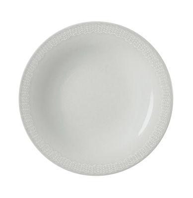 Arts de la table - Assiettes - Assiette Letti / Ø 22 cm - Iittala - Gris perle - Céramique